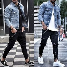 Best of Street Style ( Stylish Mens Outfits, Cool Outfits, Casual Outfits, Men Casual, Estilo Tomboy, Urban Fashion, Mens Fashion, Fashion Trends, Mode Man