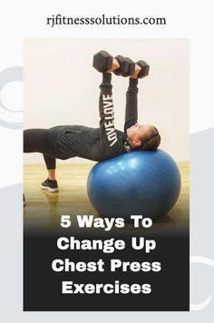 Sometimes it's difficult to find different variations for exercises when training at home. Try these 5 change ups to chest press exercises for your next upper body workout. #homeworkout #homegym #upperbody Workout For Beginners, Blogging For Beginners, Senior Fitness, Workout Guide, Muscle Groups, Upper Body, 5 Ways, At Home Workouts, Health And Wellness