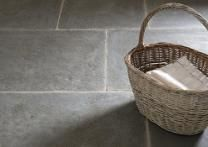 Antiqued Ash Limestone Floor Tiles