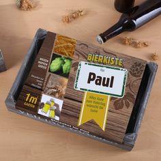personalisiertes Bierpaket zum Säen von Hopfen, Gerste und Weizen