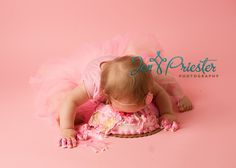 Cakes For Baby's First Birthday | ... Baby Photographer } » baby eating cake first birthday pictures