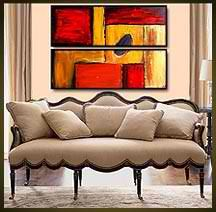 Geni016 36x24 Original Abstract Painting by Geni by genistudio, $69.99