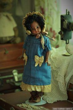 Очень важное дело - заваривать чай или когда появляется АХ / Другие винтажные антикварные куклы, реплики / Бэйбики. Куклы фото. Одежда для кукол