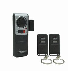 Doberman Security Wireless Door Alarm with 2 Remote Controls (Silver/Black) * Continue with the details at the image link. Surveillance Equipment, Security Surveillance, Surveillance System, Wireless Security System, Home Security Systems, Door Alarms, Gps Tracking, Dashcam, Gps Navigation