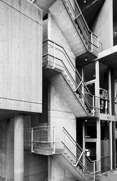Carpenter Center for the Visual Arts, Harvard University, Cambridge MA (1961-63) | Le Corbusier | Image : Hagen Stier