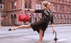 Longchamp spring / summer 2012 Ad Campaign Models: Coco Rocha  MLiisa Winkler Photography by Dane Shitagi