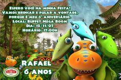 Convite digital personalizado Dinotrem 004
