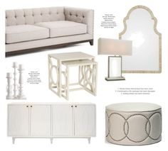 White Home Decor by kathykuohome on Polyvore featuring interior ...