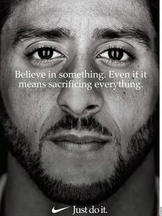 Colin Kaepernick and the soldier who told him to kneel Just Do It, How To Find Out, Army Times, Brave, Taking A Knee, Protest Signs, Provocateur, Skateboard Girl, Power To The People