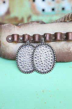 Oval Earrings by GlmgrlsBoutique on Etsy