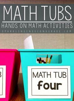 Hands on math activi