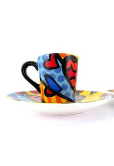 A NEW DAY espresso set $50 Tea Cups, Ceramics, Mugs, Tableware, Day, Espresso, Creative, Dining, Coffee