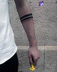 xxfive43  <br> Black Band Tattoo, Band Tattoos For Men, Line Tattoos, Star Tattoos, Arm Tattoos For Guys, Forearm Tattoos, Lower Back Tattoos, Arm Band Tattoo, Upper Armband Tattoo