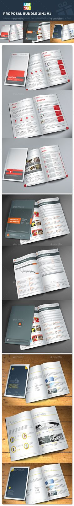 SEO - Business Proposal Templates Bundle II Business proposal - proposal templates