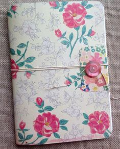 JOURNAL - Here is a set of three handmade blank notebooks/journals, perfect for taking notes, writing lists or storing thoughts. The covers are made from coordinating card stocks, and each includes 24 pages of fine quality white paper. I have sewn on buttons for a cute and sturdy closure, and wrapped