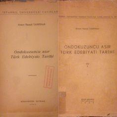 Ondokuzuncu Asır Türk Edebiyat Tarihi- Ahmet Hamdi Tanpınar