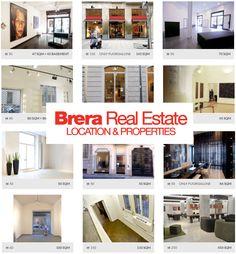 www.brerarealestate.com : Il servizio è organizzato in due macro sezioni: vendita e affitto. Entrambe distinte per immobili commerciali e immobili residenziali.