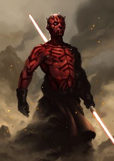 "artissimo: "" darth maul by davie chang Sparrow Boxed Set """