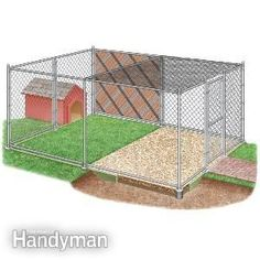 Follow these guidelines for building an outdoor dog kennel, including expert advice on kennel size, fencing materials, flooring, the dog house and other topics. #dog_house,#dogs,#dog_kennel_ideas,#dog_memes,#dog_bed,#dog?,#dog_friendly,#dog_health_tips
