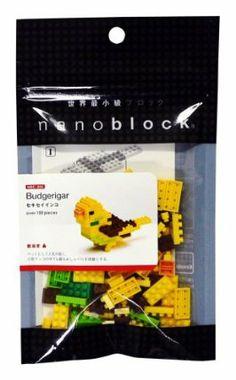 Nanoblock Animals Budgerigar by Kawada. $10.99. ?. ?