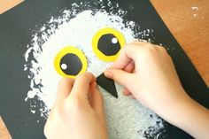 Preschool Winter Craft-Snowy Owl