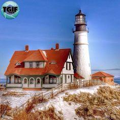 Portland Head Light, Cape Elizabeth, Maine