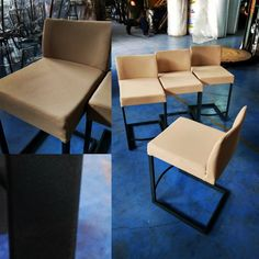 Metal Stool, Metal Chairs, Cafe Furniture, Metal Furniture, Stools, Dining Chairs, Design, Home Decor, Metal Cafe Chairs