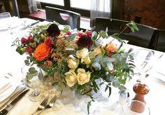 Fall textural centerpiece for a rehearsal dinner #annalisastyleflowers #autumn #fallwedding #njwedding #njflorist #flowers #flowershop #flowergram #flowerlove #flowerpower #centerpieces #weddingflowers #eventdesign #pretty