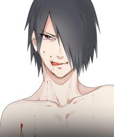 Sasuke is a vampire !