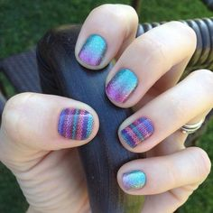 Loving this combo......#StitchedJN and #CosmicJN get yours at www.fabulousfingers.net