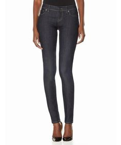 This Dark Wash 917 Curvy Skinny Jeans by The Limited is perfect! #zulilyfinds