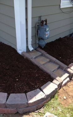 Yard drainage - 50 Amazing Drainage Garden Look Better Outdoor Landscaping, Front Yard Landscaping, Outdoor Gardens, Landscaping Borders, Landscaping Tips, Corner Landscaping Ideas, Sidewalk Landscaping, Landscaping Around House, Inexpensive Landscaping