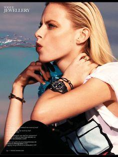 Elza Luijendijk by Nico for Vogue Netherlands March 2013 issue.