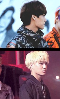 """Kai's cute startled look and then his brief disappointed """"Why did I get scared again?"""" face xD"""