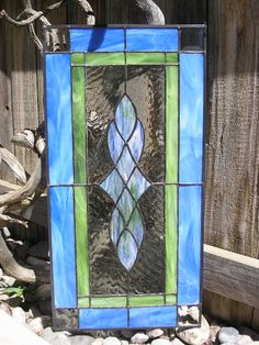 """Item1022291151(NEW! by """"IsacArt"""" STAINED GLASS WINDOW PANEL)"""