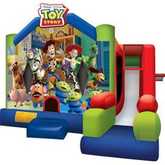Disney Toy Story Inflatable Jumper & Slide Combo C7 | Buy Jumping Castles