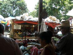 Copan market, Copan Honduras