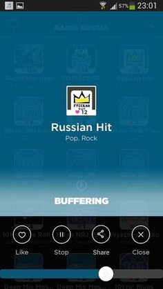 Russia Radio App is the easiest for your phone <p>More than 200 Russian radios available, without limits and high quality <p>Our team has sought to make Russia Radio simplest possible compared to other more complex radio application, while retaining the essential. <p>You can: <br>- Navigate through 200 Russian radios available <br>- Search a Russian radio by name <br>- Search a Russian radio among 40 categories (News, Pop, Electro ...) <br>- Add Bookmark your favorite Russian radios <p>The…