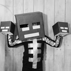 Wither costume I made together with my son. We had lots of fun.