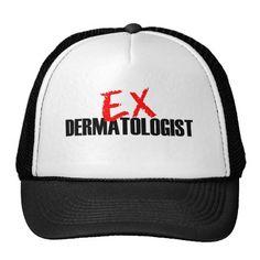 EX DERMATOLOGIST LIGHT TRUCKER HAT