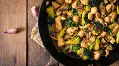 Day-Off Diet Chicken Stir-Fry | The Dr. Oz Show |   Ginger is easy to use, just grate it for a quick way to use in the stir-fry. You could omit it if you're not a big fan of it, however it adds a wonderful bite to this recipe and has great benefits to your body!
