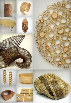 Contemporary Bamboo Art  -Anne Crumpacker  -Tanabe  -Honda Syoryu  -Yezhi Zhang  -Celeste Lambert  -Studio 1212  -Amy Bengton  -Julia Harrison  -Nami  -Zachary Warwas  -Geek Modish.