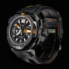 Clerc Hydroscaph Limited Edition Central Chronograph Watch
