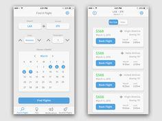 Flight Search App by Tyheem Registe