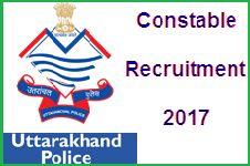 UK Police Constable Recruitment 2017: Online Application Form Uk Police: Check Online Exam Schedule 2017 uttarakhandpolice.uk.gov.in