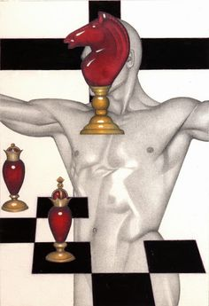 Chess Men, 1995, by Mel Odom