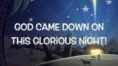 Oh What a Glorious Night-Sidewalk Prophets. Such a great song! Singing this with my friend abby for the christmas eve service! Its such a beautiful song!