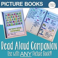 Read aloud companion that can be used with any picture book with no prep. Print one journal for each student and use with any story all year. Extension activities are a great tool to leave as emergency sub plans. . . .. .. . . . . read-aloud-worksheets, book-for-read-aloud, stories-for-read-aloud, read-aloud, #readaloud, #readalouds, #picturebooksRead Aloud Life Skills Classroom, Teaching Social Skills, Teaching Language Arts, Special Education Classroom, Teaching Music, Teaching Math, Teaching Resources, Emergency Sub Plans, Read Aloud Books