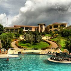 Occidental Grand Papagayo  Liberia, Guanacaste, Costa Rica   Beautiful hotel.. In the middle of the mountains