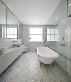 Шикарное оформление ванных комнат от Michaelis Boyd